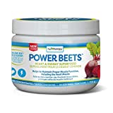 Nu-Therapy Power Beets Powder - Circulation Superfood Acai Berry Pomegranate Flavour, 110 g