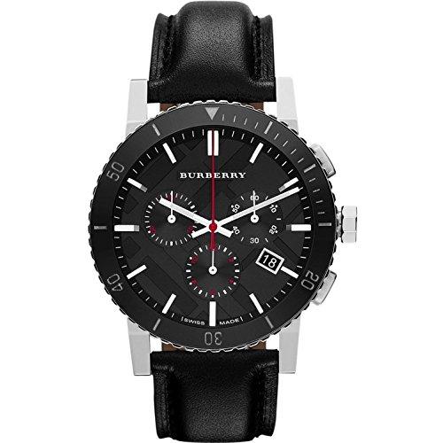 BURBERRY Herren-Armbanduhr Chronograph Schwarz BU9382