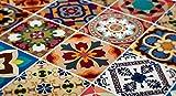 Adhesivos para Azulejos - Paquetes con 48 (20 x 20 cm, Talavera Tradicionales Mexicanos Adhesivo para Azulejos Decoración)