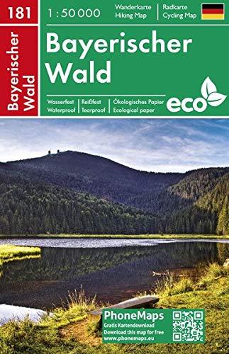 Bayerischer Wald, Wander - Radkarte 1 : 50 000 (PhoneMaps Wander - Radkarte Deutschland, Band 181)
