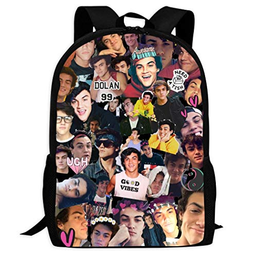 Lisouna Kids Do-Lan Boys T-Wins Backpack Fashion Children Bookbag School Office Bag Supplies
