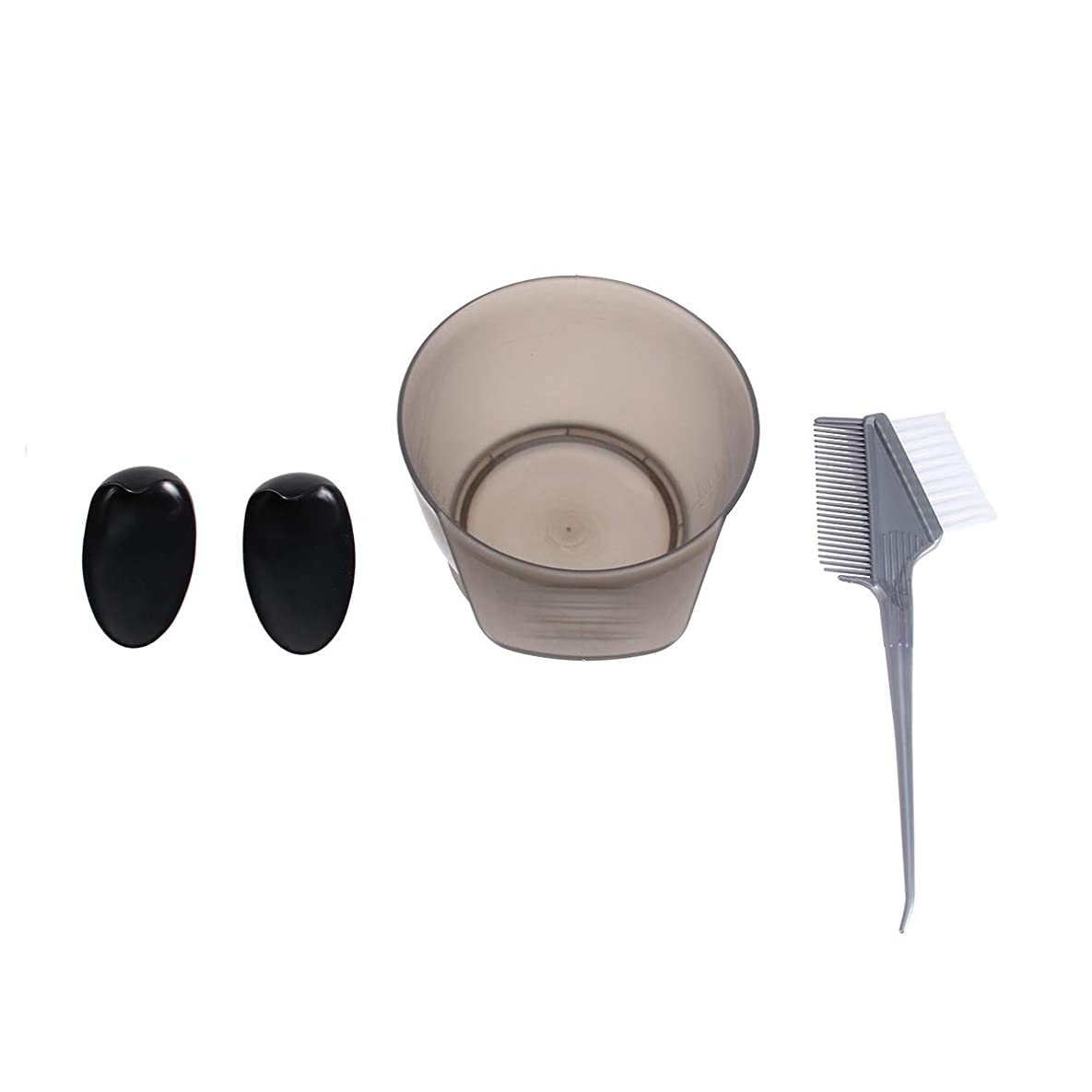 申し込む変数食事Lurroseヘアカラーキットプロフェッショナルホームdiyヘアティンティングセットヘア染色ツール