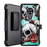 DALUX Hybrid Kickstand Holster Phone Case Compatible with