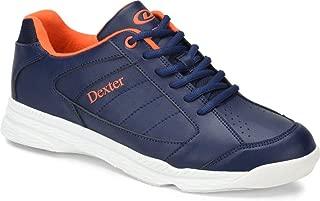 dexter black and orange bowling shoes