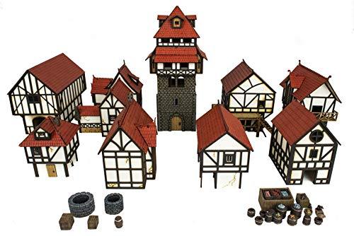 Base Wargaming RPG Socles carr/és en Plastique 25mm avec Fente Quantit/é /à Choisir War World Gaming - Wargames Historiques D/écor Miniatures Figurines