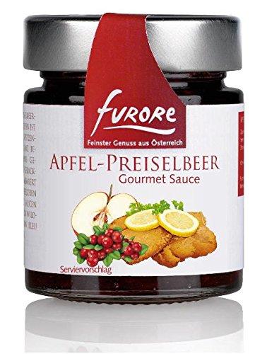 Furore Apfel-Preiselbeer Gourmet Sauce 4x 160g