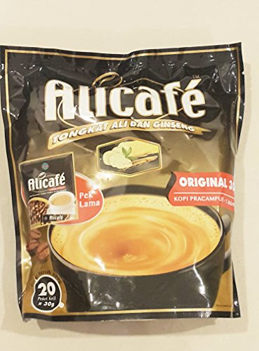 Alicafe 1 x Power Root 5 in 1 Tongkat Ali & Ginseng 20 Sachets