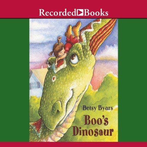 Boo's Dinosaur audiobook cover art
