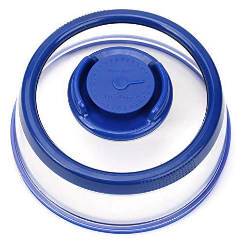 TUOLUO Vakuum Lebensmittelversiegelungsmaschine Küchenabdeckung Ausgezeichnete Qualität Ohne Verformung Der Pflanzlichen Sprödigkeit Blau