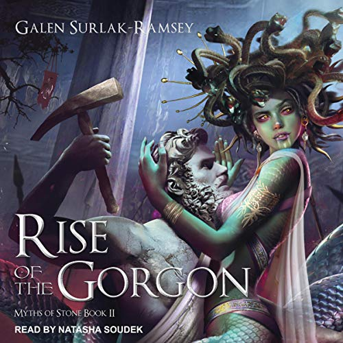 Rise of the Gorgon  By  cover art