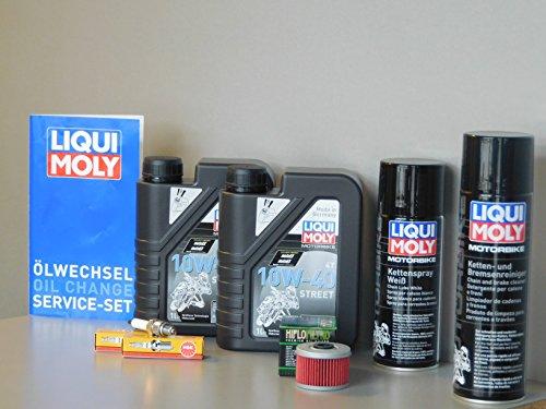Benelli TNT 125 Kit d'entretien pour filtre à huile, bougie d'allumage