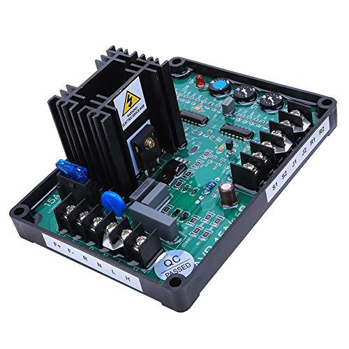 SANON Controlador Regulador de Voltaje Generador Automático Partes del Grupo Electrógeno Regulador de Voltaje Universal Módulo de Potencia Gavr-15B