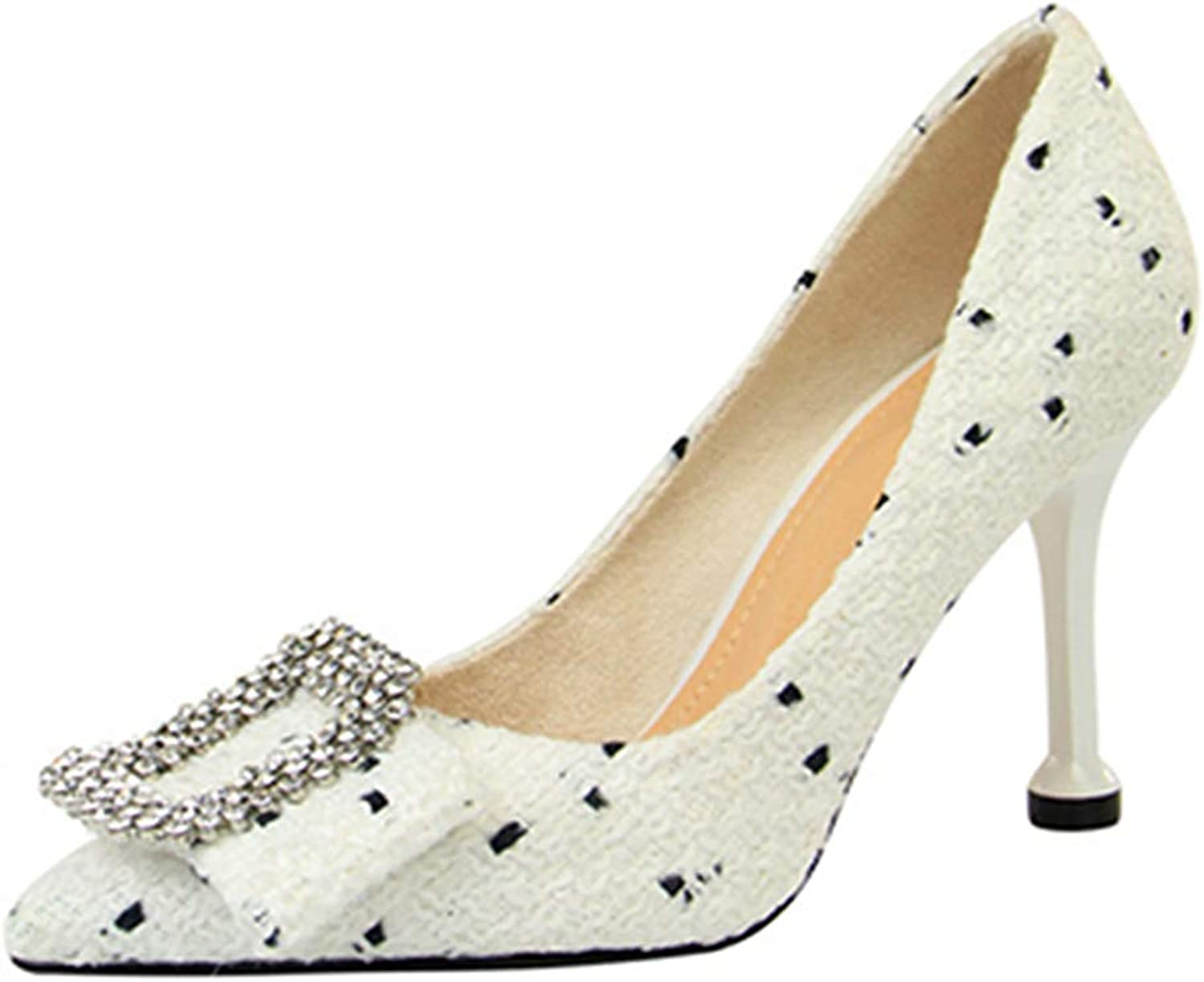 Kyle Walsh Pa Women's Pumps Ladies Elegant Stiletto Pointed Toe High-Heel shoes