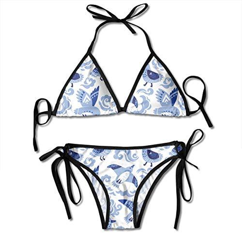 QUEMIN Blaue Titten Gepolstert Push Up Bikini Set Zweiteiliger Badeanzug Strand Badeanzüge Für Frauen Mädchen Sexy Badeanzug Zweiteiler Schwarz