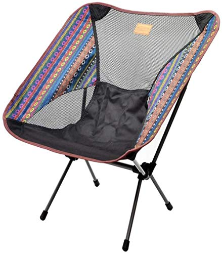 YYZZ Portable Camping Sac à Dos Chaise-Ultra-léger Chaise de Camping Pliante, emballé dans Un Sac à Main, la Chaise est Lourde Chaise Pliante de pêche en Plein air