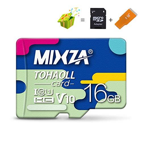 LuckyOne MIXZA BF - Scheda di memoria 256 GB U3 80 MB/S Class10 128 GB 64 GB 32 GB U1 scheda micro SD UHS-1 scheda di memoria Microsd TF/SD Card