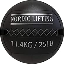 Wall Ball for Crossfit & Fitness - Medicine Ball for Gym and Strength Training by Nordic Lifting - 25 lb