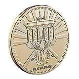 Lankater 1pc Metallmünze Sammlermünzen Gold-gedenkmünze Antike Kreuz Reichsmünze