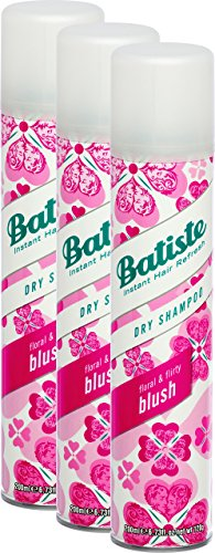 Batiste–Champú en seco Blush–200ml–lote de 3