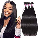 10A Brazilian Straight Human Hair Bundles 12 14 16inch Unprocessed Virgin Straight Hair 3 Bundles B-fashion Brazilian Remy Human Hair...