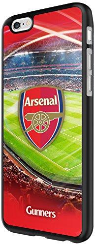 Arsenal FC - 3D Hülle für Apple iPhone 6/6S I Ultra Slim Bumper Cover I Anti-Scratch Smartphone Schutz