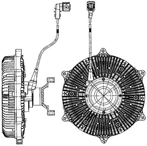 Mahle CFC 219 000P Acoplamiento para Ventilador