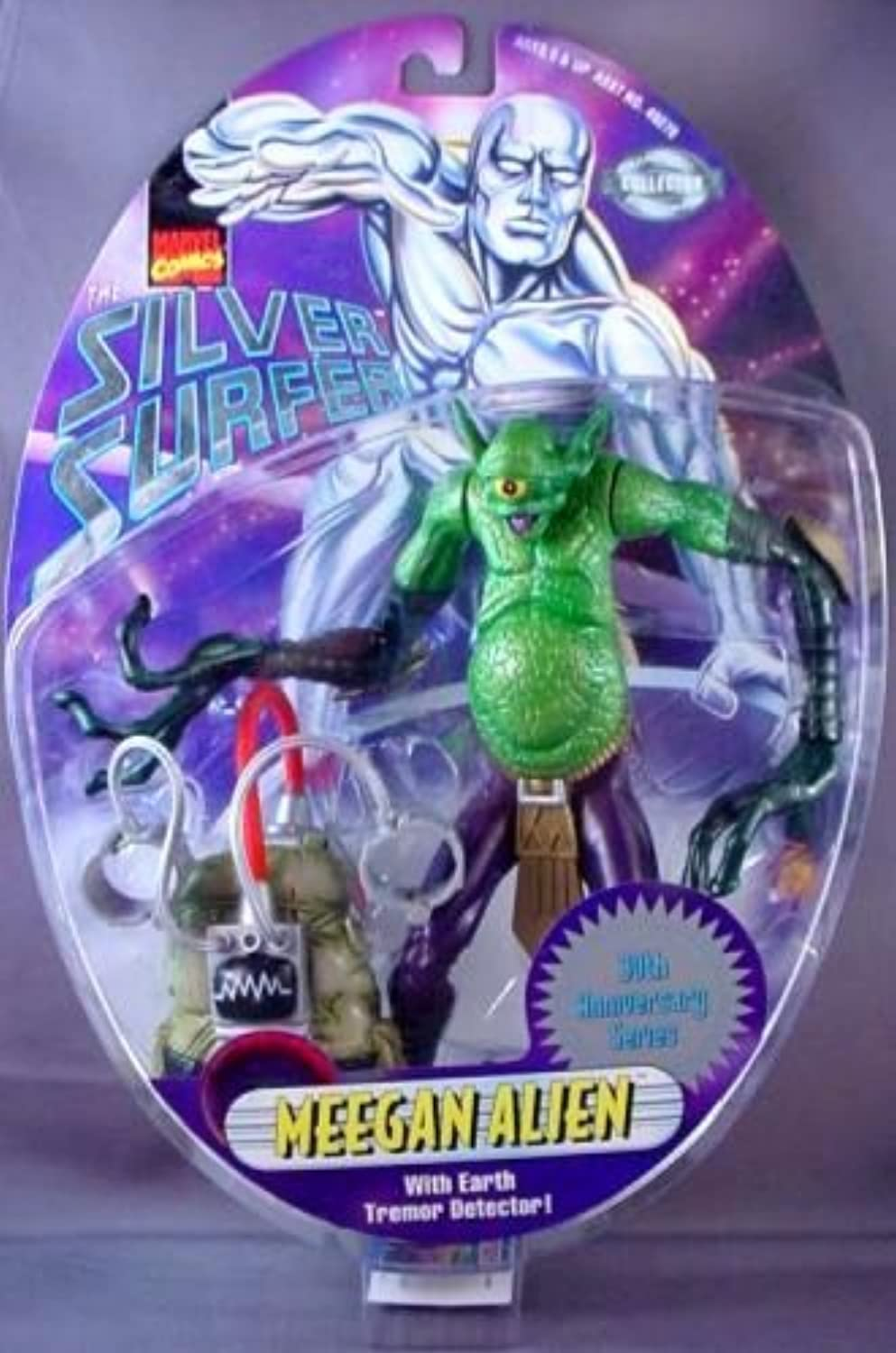 Silver Surfer Meegan Alien 6 inch Action Figure with Earth Tremor Detector by Silver Surfer