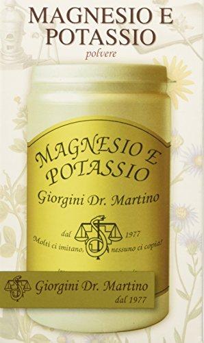 Dr. Giorgini Integratore Alimentare, Magnesio e Potassio Polvere - 180 g