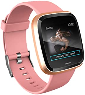 ZWXIN IT16 - Reloj Inteligente con podómetro, Monitor de sueño, presión Arterial, frecuencia cardíaca