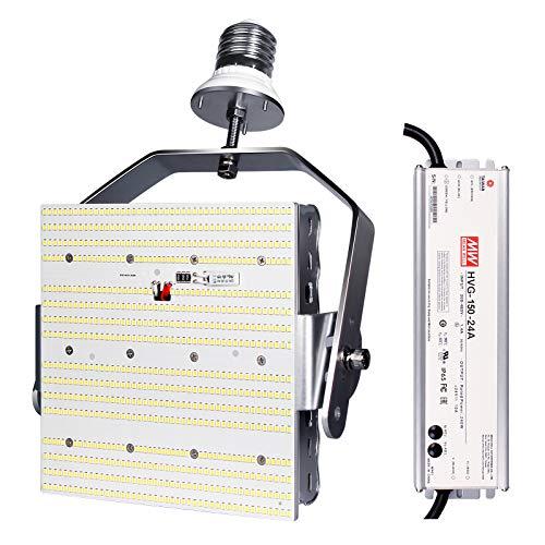 Shoebox LED Retrofit Kit 120W=480W Metal Halide 17400LM 5000K E39 Mogul Base Retrofit LED Parking Lot Tennis Court Lights,ETL DLC Approved,AC200-480V