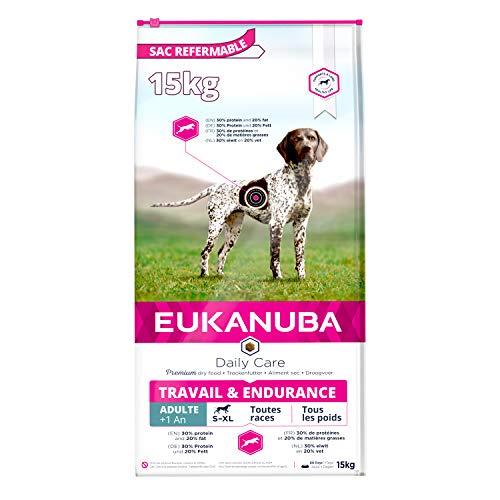 Eukanuba Daily Care Adulte Travail & Endurance Poulet 15kg