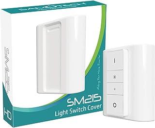 Samotech® Afdekplaat voor lichtschakelaar voor Philips Hue dimmer - adapter - converter