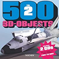 500 3D Objects Vol.2 (500 3D objects)