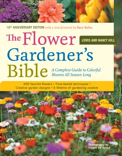 15 of the best gardening books for beginners: The Flower Gardener's Bible #aNestWithAYard #book #gardenBook #backyardGarden #garden #gardening #gardenTips #gardencare