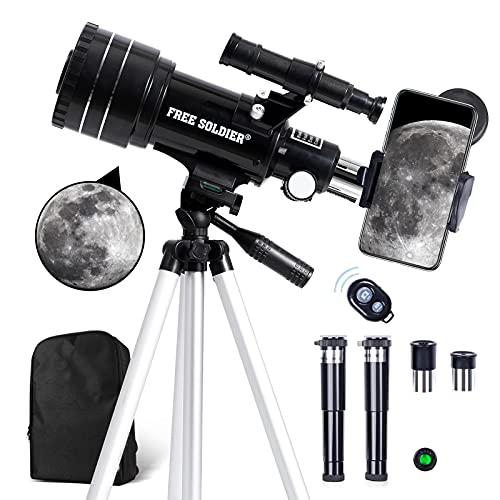 Telescopio Principiante  marca FREE SOLDIER
