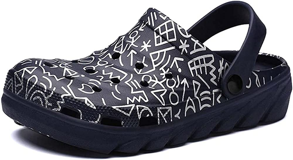 Bitiger Mens Clog Comfortable Garden Sandals Casual Water Shoes for Daily Life & Nursing Clog for Work