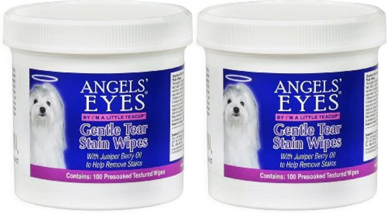 Angels' Eyes Gentle Tear Stain Wipes 200ct (2 x 100ct)