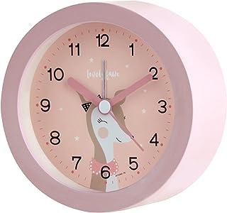 Réveil analogique pour enfant - Réveil pour fille et garçon - Sans tic-tac - Avec veilleuse