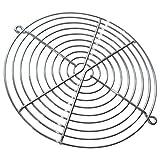 AERZETIX - 2X Rejilla Cromo de protección - Ø171mm - Ventilación para Ventilador de Caja de Ordenador PC - C42220