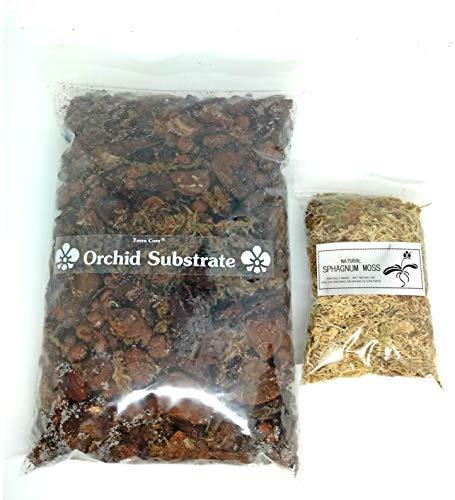 Terra CORE – mezcla de compost de tierra para orquídeas + musgo...
