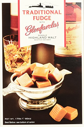 Gardiner's of Scotland Glenfarclas Malt Whisky Fudge 170g, 1er Pack (1 x 170 g)