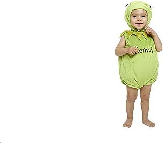 amscan Disney Baby DCKER-TA-018 - Kostüm - Die Muppet Show - Kermit der Frosch - Spieler mit Kapuze, grün