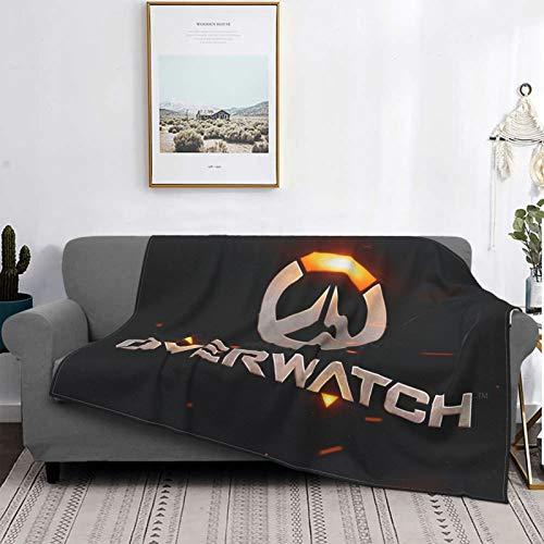 Gua Tan Mantas para videojuegos, manta de felpa ultra suave, manta de forro polar para sofá cama y sala de estar de 201 x 152 cm