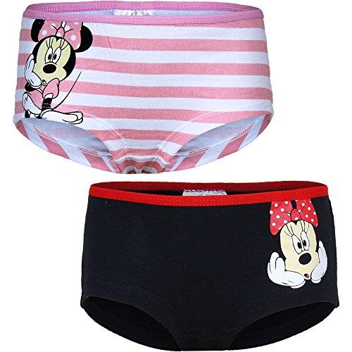 Minnie Maus 2er Pack Boxershorts (6-8 Jahre)