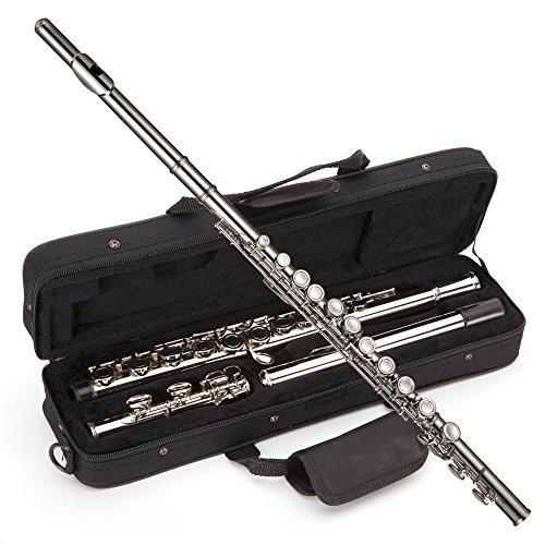 Windsor MI-1002 - Estuche para flauta travesera de níquel