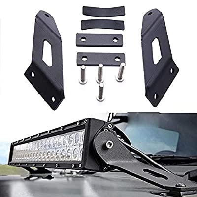 TTX LIGHTING Light Bar Cube Fog Light Mounting Brackets for Jeep JK Wrangler