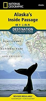 Alaska's Inside Passage (National Geographic Destination Map) by National Geographic Maps