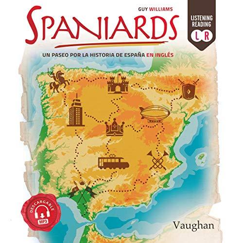 Diseño de la portada del título Spaniards