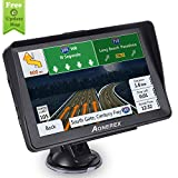 Car GPS, Aonerex 7 inch Touchscreen GPS Navigation System with Sunshade for Car