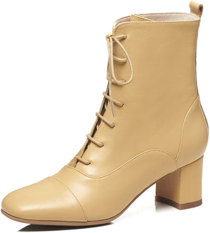 ANNIEschuhe Stiefeletten Damen Ankle Stiefel Schnürung Schnürung Absatz  bester Preis